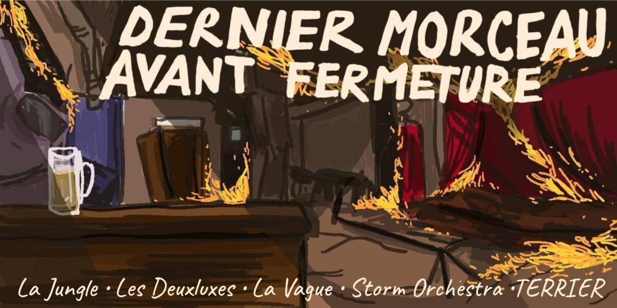 TERRIER La Jungle Les Deuxluxes Storm Orchestra La Vague