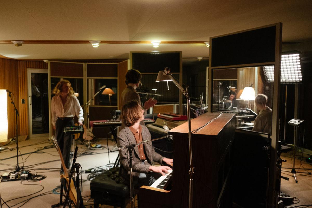 Parcels live in studio