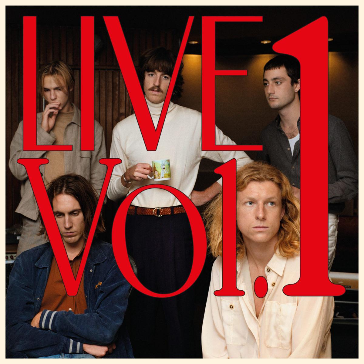 Parcels Live Vol.1 Cover Art