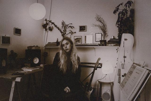 Beau Corbeau in her studio