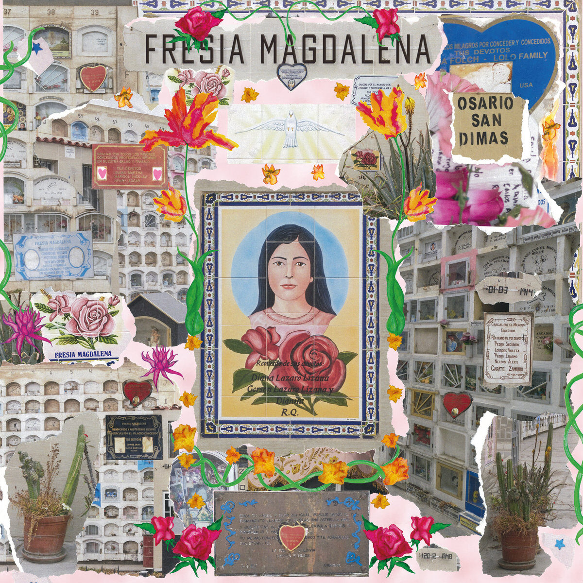 Sofia Kourtesis Fresia Magdalena, pochette
